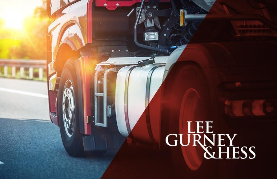 Causes of Trucking Accidents – Kansas Personal Injury Attorneys - Lee, Gurney & Hess