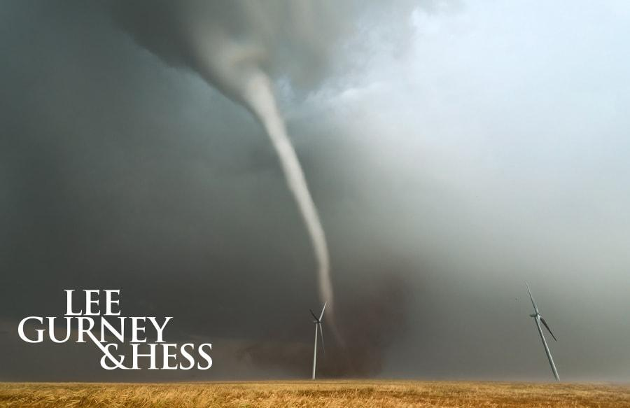 Tornado Driving Safety–Wichita Personal Injury Attorneys-Lee, Gurney & Hess